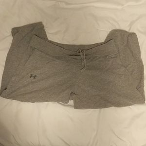 Under Armour Charged Grey cotton capris